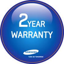 Garantie 2 ans des batteries lithium-ion Samsung