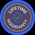 Logo de la garantie à vie Wayscral