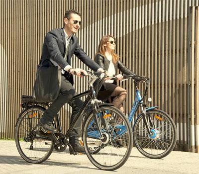 Gamme de vélos électriques de ville Wayscral